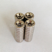 customized countersink ring rare earth magnet
