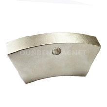 High Quality Customized Motor Wedge Neodymium Magnet With Hole