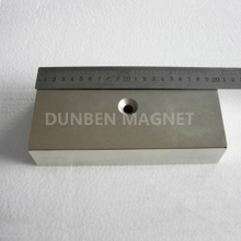 Super Strong Big Block Magnet Countersunk Rare Earth Neodymium Magnet