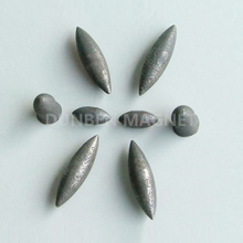 Olive shape alnico magnet , customized irregular alnico magnet with permanent casting
