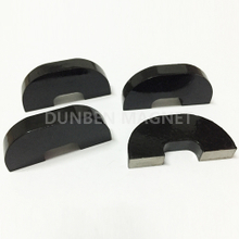 Black Painted Cast Alnico Horseshoe Magnet For Instruments