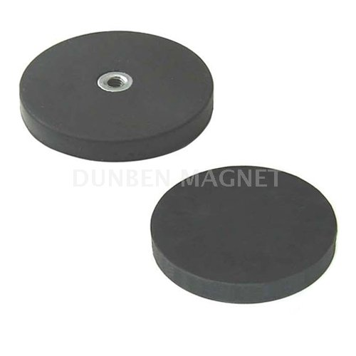 Rubber Coated Neodymium Pot Magnet/ Holding Magnet With Handle,Magnetic Cup Assemblies,Grip Magnets,Magnetic Hook With Through Thread ,Magnetic Sign Gripper,Magnet Systems with Internal Thread