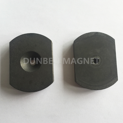 Radial Magnetized Magnet , Cast Alnico 5 and Alnico 8 Base Magnets for Generators
