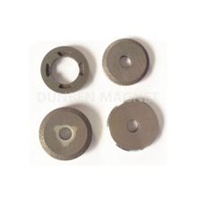 Isotropic AlNiCo2, AlNiCo3,Alnico5 Ring Speedometer Magnets For Motorbicycle Instrument