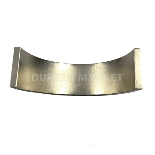 Powerful sintered Arc Curved Rare Earth Neodymium Magnet For Permanent Magnet Motor