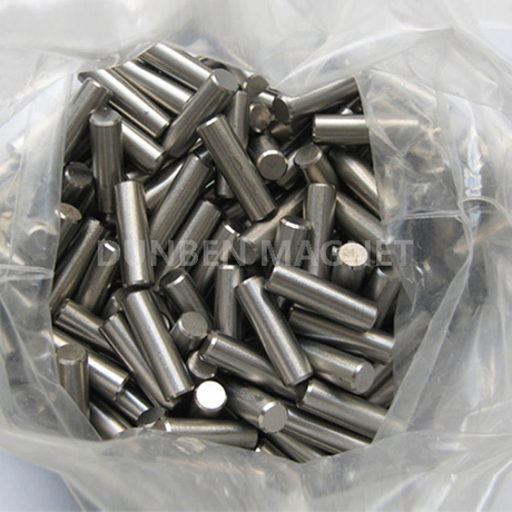 Precision Cast Alnico Rod Magnets with chamfer , Alnico 5 Rods Magnets For Guitar Pickup ,LNG40