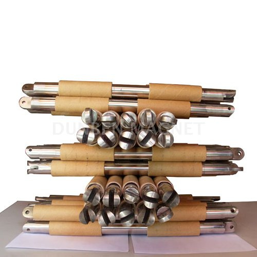 Magnetic Filter Rods Tube Magnets for Separator,Stainless Steel Round Magnetic Bars, Strong Round Magnetic Tubes, Magnetic Rods, Magnetic Filter Bars With Customized Ends